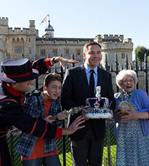 David Walliams launches Gangsta Granny