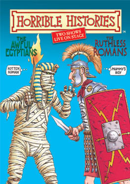 Horrible Histories Egyptians and Romans