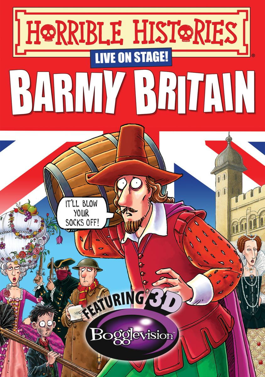 Horrible Histories - Barmy Britain 3D