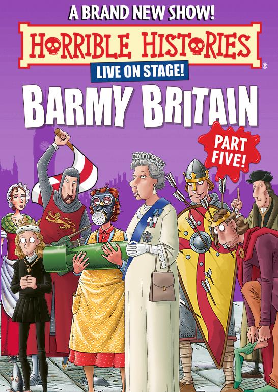 Horrible Histories: Barmy Britain - Part Five!