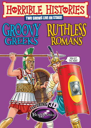 Groovy Greeks and Ruthless Romans